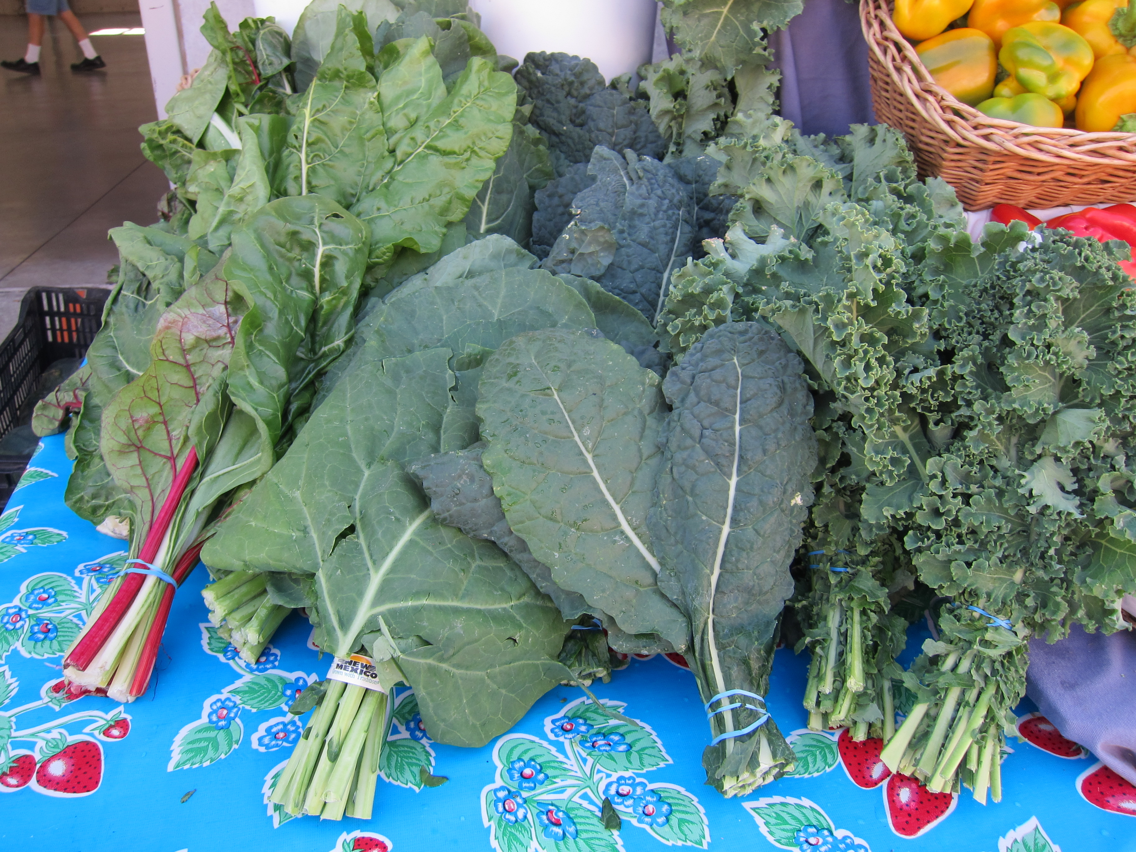 Discover New Greens at Local Growers' Markets