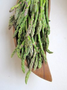 Choose asparagus that is as thin as possible.