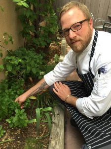 Executive chef Michael Patrick McCann says he was drawn to Mu Du Noodles in Santa Fe because of its stellar reputation and the opportunity to integrate the locavore ethic into Asian cuisine. (Denise Miller/For The Albuquerque Journal)