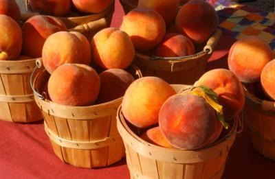 Growers Bring Bounty of Peaches to Market