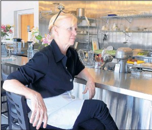 """Chef Sarah Hartford is committed to freshness at her restaurant. """"Buying local is more time consuming, but it's what I love to do,"""" she says. """"It's part of our mission."""""""